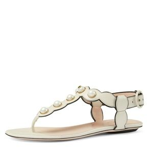 Gucci Willow Pearly Thong Sandal size 35